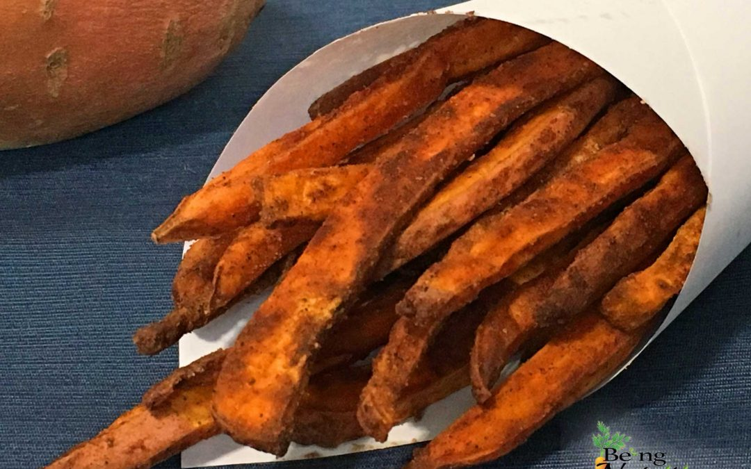 Crispy Baked Cinnamon Sweet Potato Fries