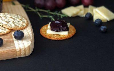 Blueberry Thyme Chia Jam