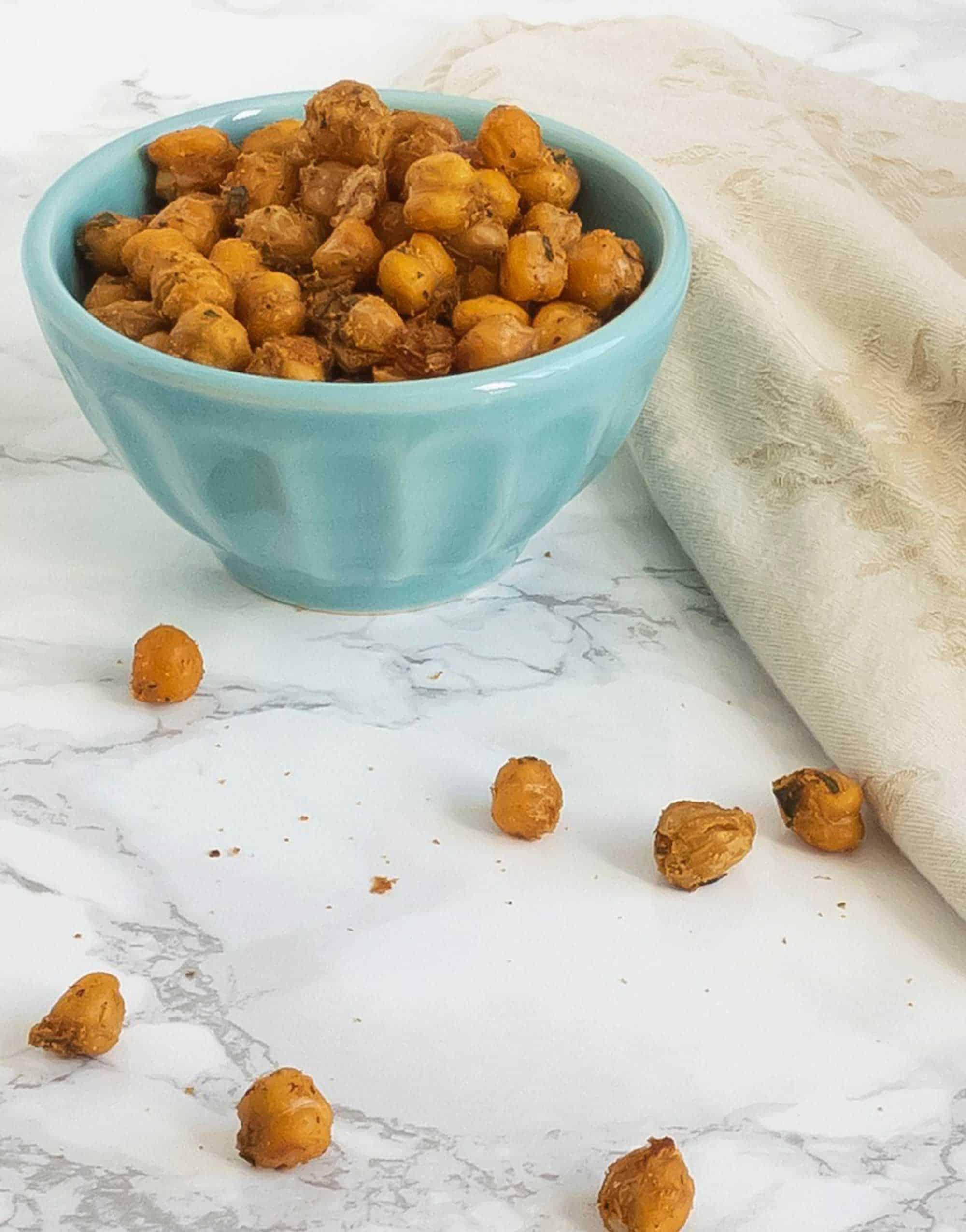 Falafel Spiced Baked Chickpeas