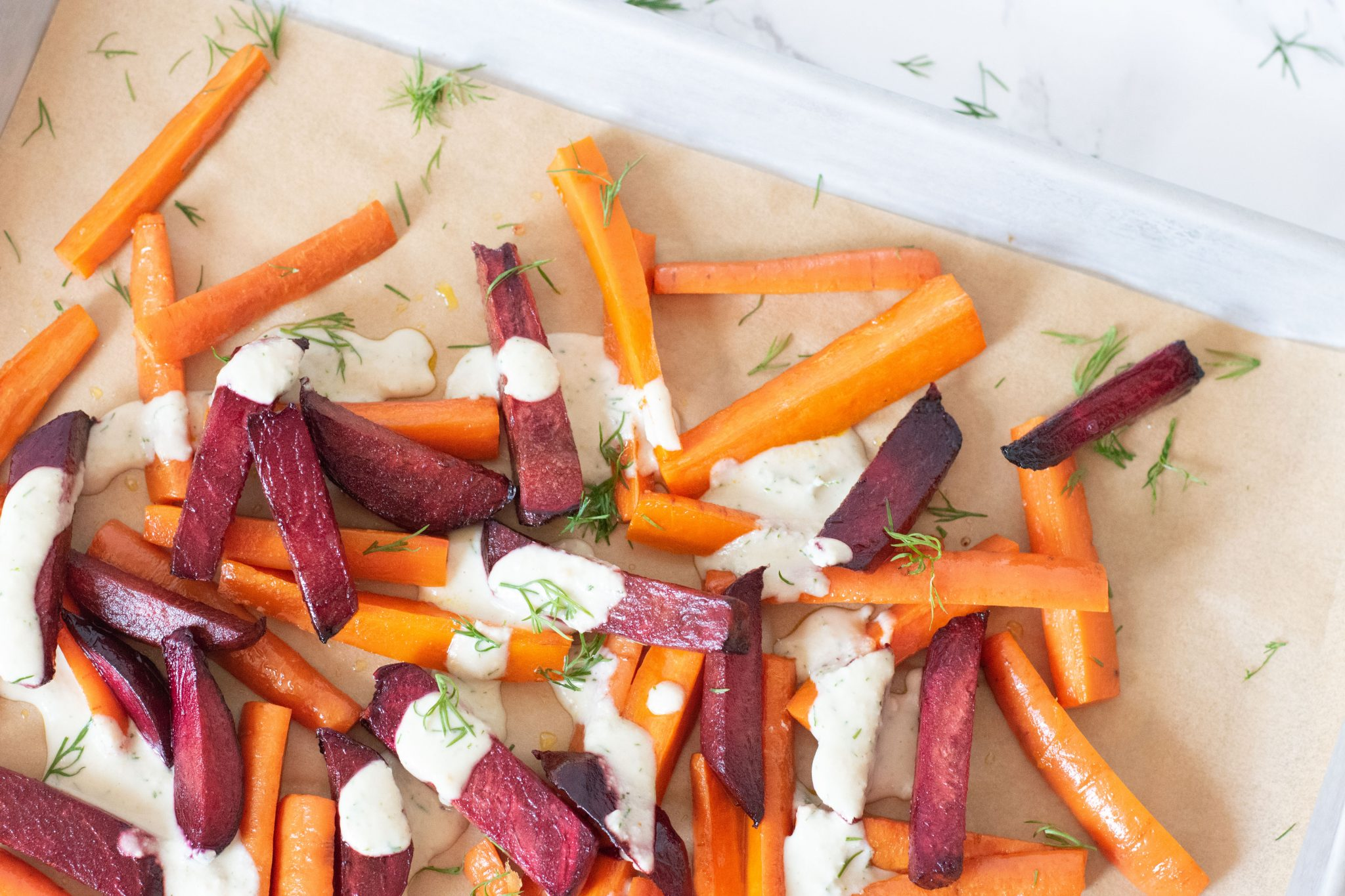 Roasted Beets and Carrots 2