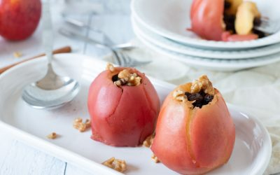 Pressure Cooker Baked Apples (with oven option)