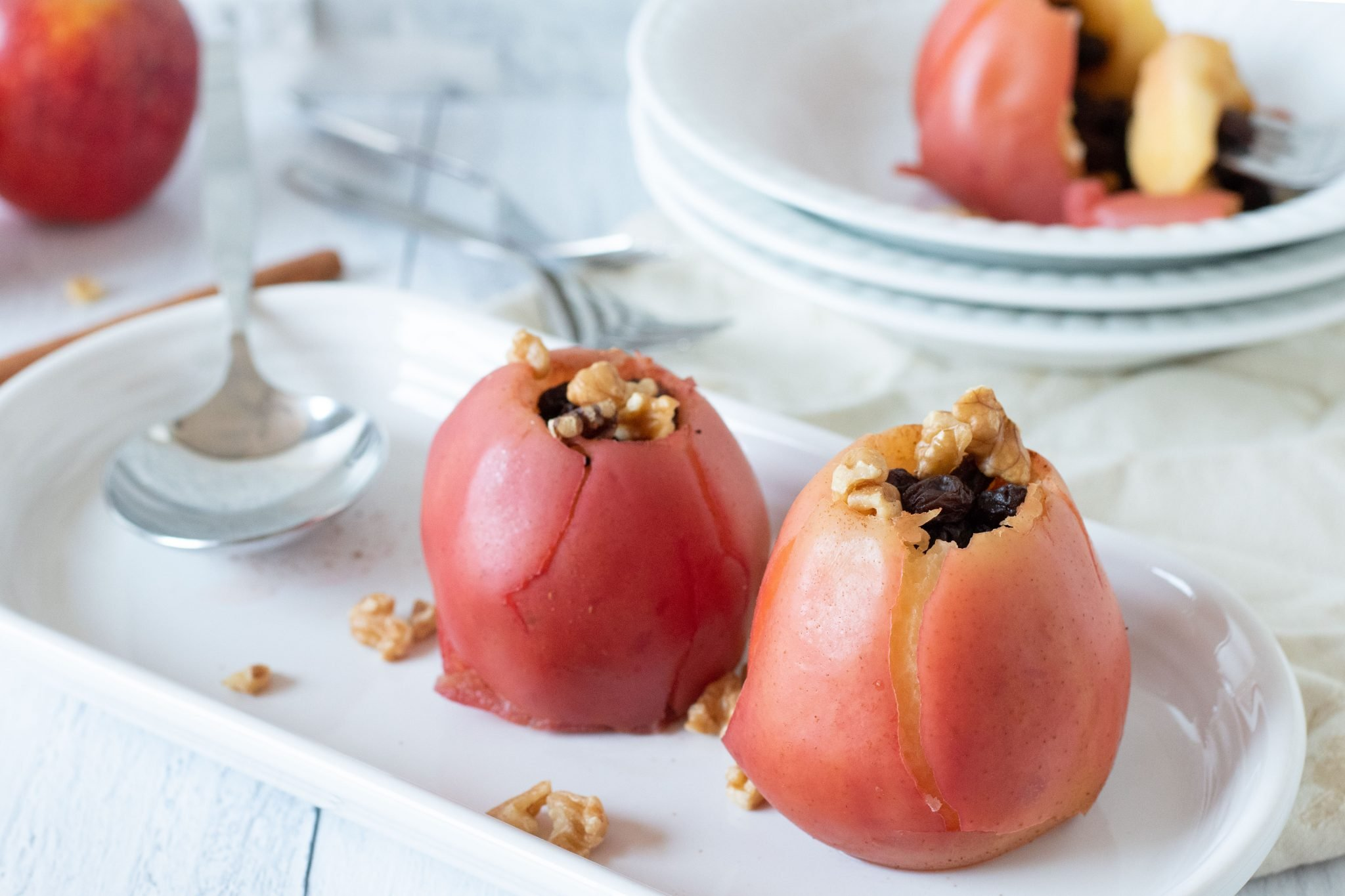 Pressure Cooker Baked Apples