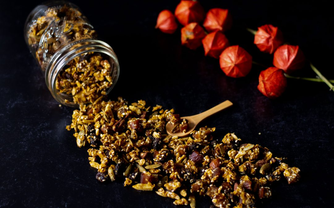 Heart Healthy Pumpkin Granola