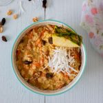 Tropical Carrot Cake Oatmeal from above
