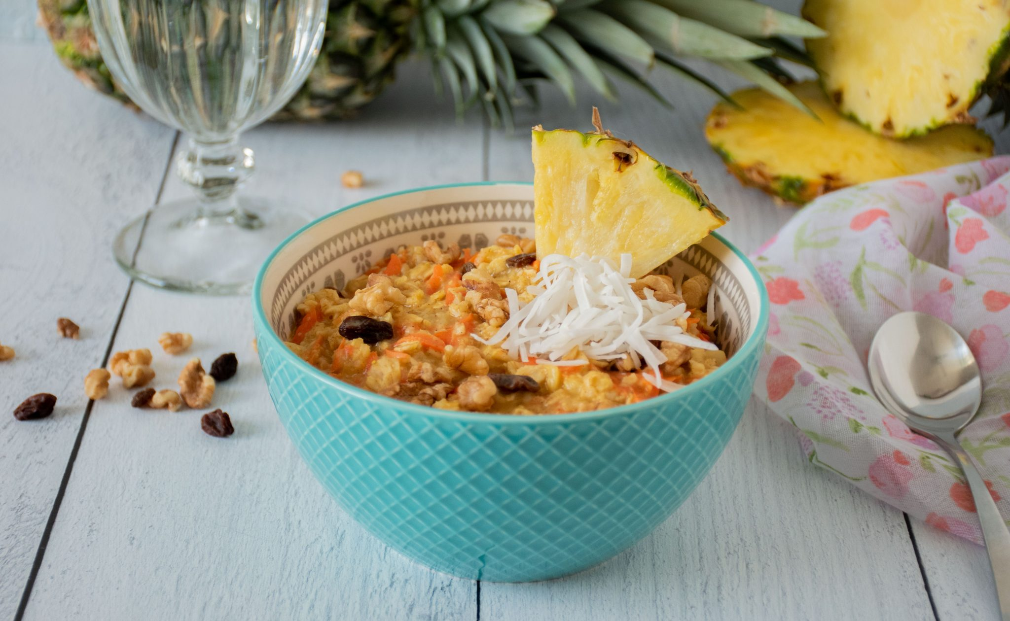 Tropical Carrot Cake Oatmeal