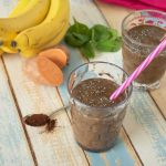 High Potassium Chocolate Sweet Potato Smoothie