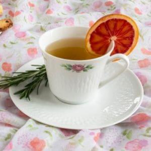 Rosemary Peppermint Tea