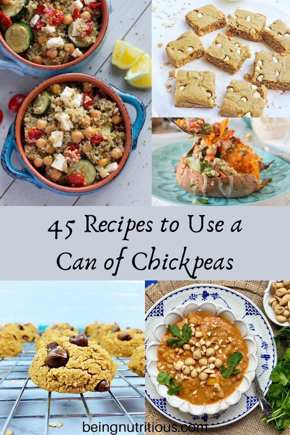 45 Recipes to Use a Can of Chickpeas