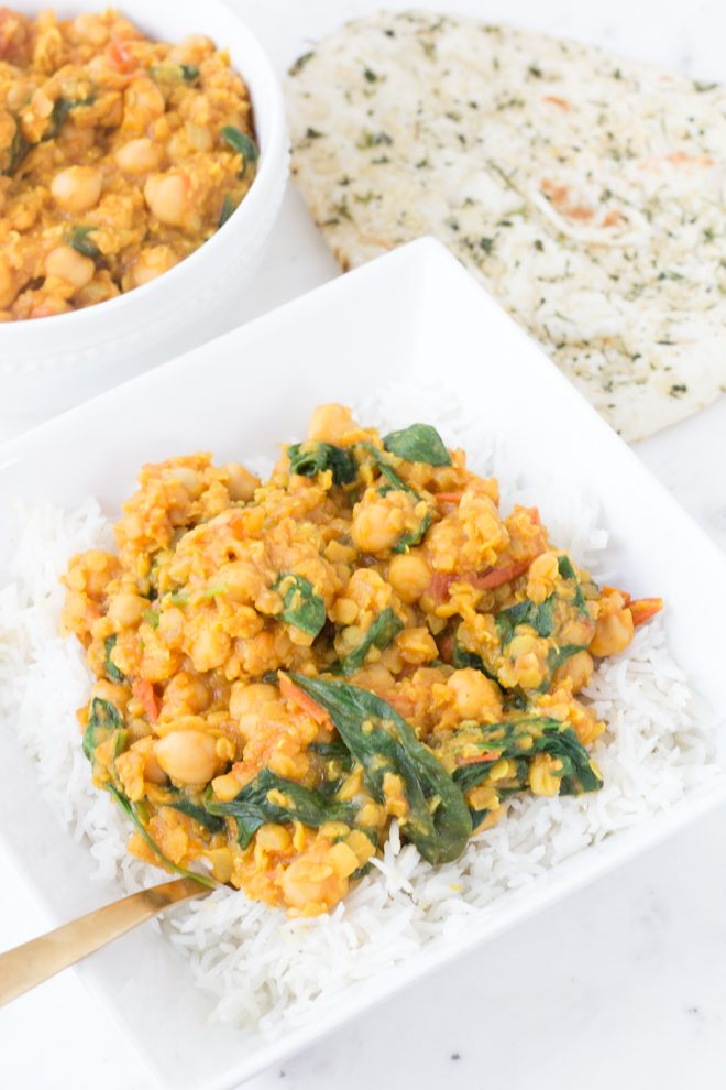 Chickpea Lentil Curry from Lauren Sharifi Nutrition